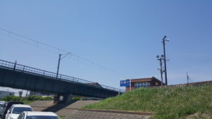 昭島市 多摩川 河川敷