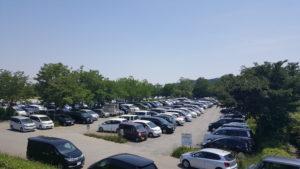 昭島市 くじら運動公園 駐車場