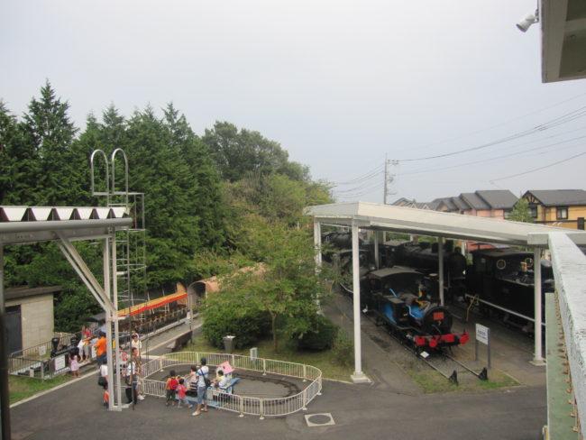 青梅鉄道公園園内風景