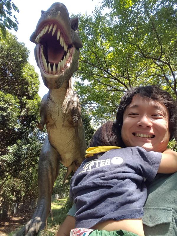 本物みたいな恐竜ぞ~んも!