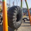 タイヤ公園 遊具
