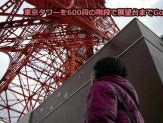 東京タワーを600段の階段で挑戦!