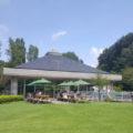 公園の中央付近には軽食レストランも