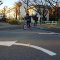 新宿交通公園 自転車練習