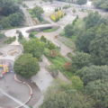 グリーンタワーからの公園