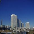 一番左がランドマークタワー