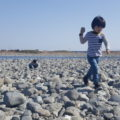 富士川 河川敷