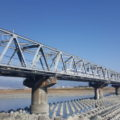 富士川と新幹線