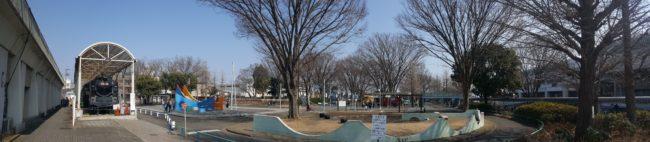 府中市郷土の森公園 交通遊園