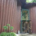 森の家の入口