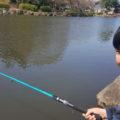 こども自然公園 釣り体験