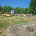 公園全体は斜面になっているよ~