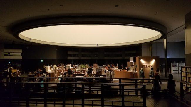 都庁南展望室内