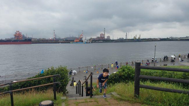 東扇島西公園 散歩