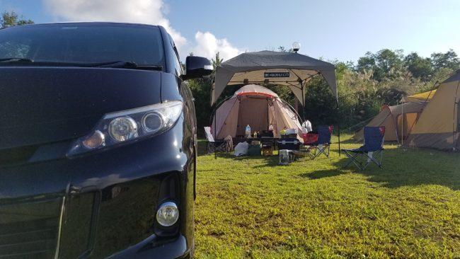 山梨 フレンドパークむかわでキャンプ
