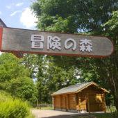 冒険の森へ出発