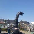 タイヤ公園 怪獣
