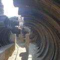 タイヤのトンネル しっぽ