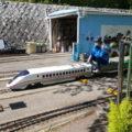 園内のミニ鉄道は子供は大喜びしますよ!