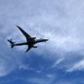 城南島海浜公園 飛行機