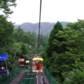高尾山リフトは気持ちがよいです!
