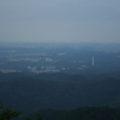 山頂駅付近からの都心の眺め