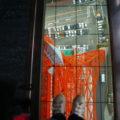 東京タワー展望台から真下の眺め