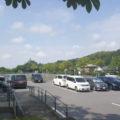 駐車場はP1,P2,P3とたくさんの車が停められますよ!
