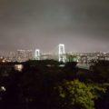 こんな夜景も外に出ると見れますよ!