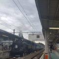 SL 鬼怒川温泉駅 到着