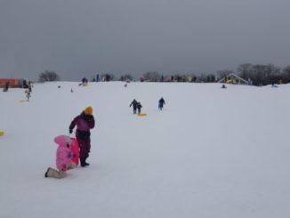 ぐりんぱ雪遊び