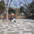 みんなで遊べる公園でした