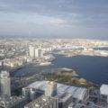 ランドマークタワー 東京方面の風景